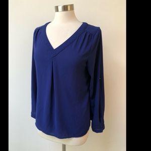 41 Hawthorn Royal Blue blouse